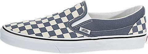 mens slip on vans checkerboard