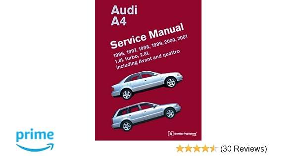 Audi a4 b5 service manual 1996 1997 1998 1999 2000 2001 audi a4 b5 service manual 1996 1997 1998 1999 2000 2001 bentley publishers 9780837616759 amazon books fandeluxe Gallery