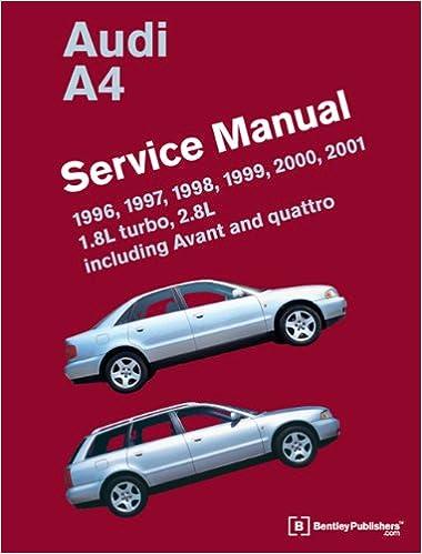 Audi a4 b5 service manual 1996 1997 1998 1999 2000 2001 audi a4 b5 service manual 1996 1997 1998 1999 2000 2001 bentley publishers 9780837616759 amazon books fandeluxe Image collections