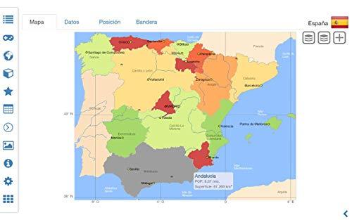 Atlas mundial | Mapa del mundo | Léxico del país MxGeo Pro: Amazon.es: Appstore para Android