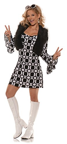 Women's Retro Mod GoGo Costume - Hip Chick -