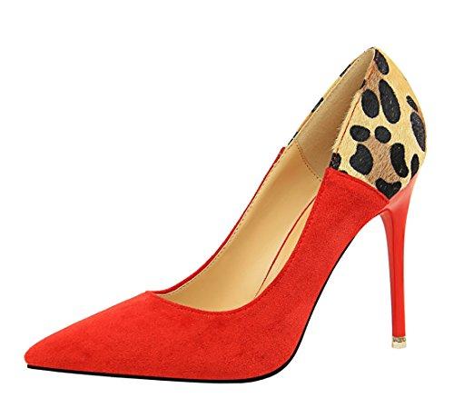Compensées 5 DS1717 Femme MiyooparkUK Rouge Miyoopark 2 36 Sandales Red wIFBnxq4