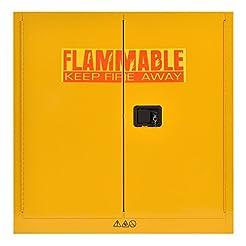 Sandusky Lee SC300F Yellow Steel Safety ...