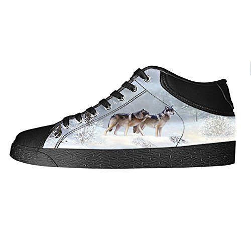 Mond B Dalliy Segeltuchschuhe Shoes Mens Sneakers Leinwand-schuh-turnschuhe Und Wolf High-top Schuhe Lace-up Canvas