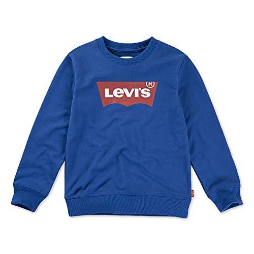 Levi's Boys' Toddler Crewneck Sweatshirt, True Blue, 2T