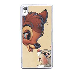 Sony Xperia Z3 Cell Phone Case White Bambi AS7YD3595623