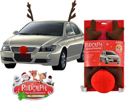 Rudolph the Red Nosed Reindeer CAR Costume KIT (New/Officially -