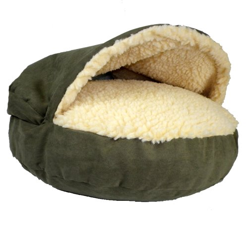 Snoozer Luxury Cozy Cave, Leaf, Large
