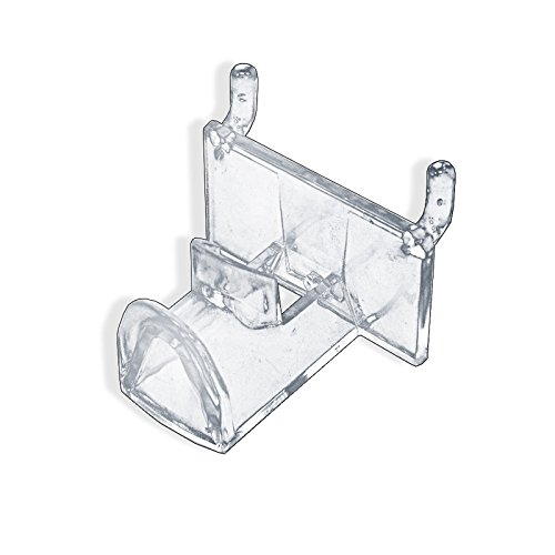 25 Piece New Retails Clear Molded Plastic Eyeglass Holder for Pegboard
