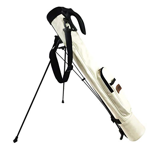 チラチラするホーム依存RACTIDA クラシックスタイル スタンドクラブケース 4~5本用 ゴルフバッグ
