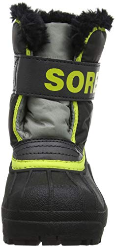 Gris Jaune Sorel Grey Dark Après Ski Warning Foncé Yellow Commander Childrens Snow Sx1S0n4q