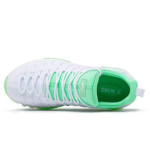 All'usura Coppie Anti Casual Sneakers 39 Scarpe Imbottitura Completa Di Resistente scivolo Cuscino Palmo Donna green wg4aUS