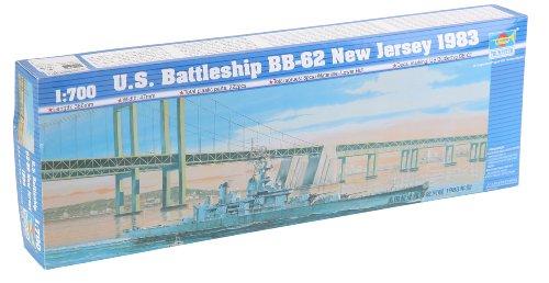 Trumpeter Battleship- BB-62 USS Newjersey 1983 - Bb Jersey Usa