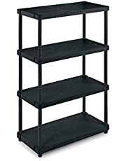 Terry TR2650 Outdoor Shelves (4 shelves scaffles) 80 x 40 x 133cm Black