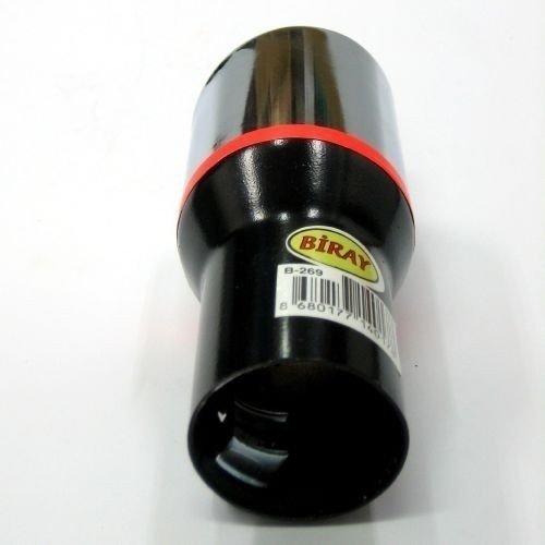 Boloromo 269 Universal Auspuff Blende Doppelrohr Endrohr Edelstahl Auspuffblende 33-48mm /Ø Chrom