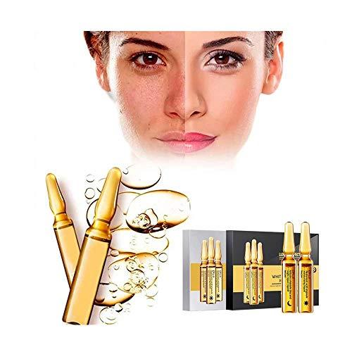 Wanzi2 Oil-Free Facial Essence,Dark Spots Corrective Ampul Moisturizing Firming Facial Serum,Reduce Post-Acne Marks and Hyperpigmentation 2ML/PC 1BOX(7PC) (B) (Artistry Essentials Anti Blemish Acne Treatment Reviews)