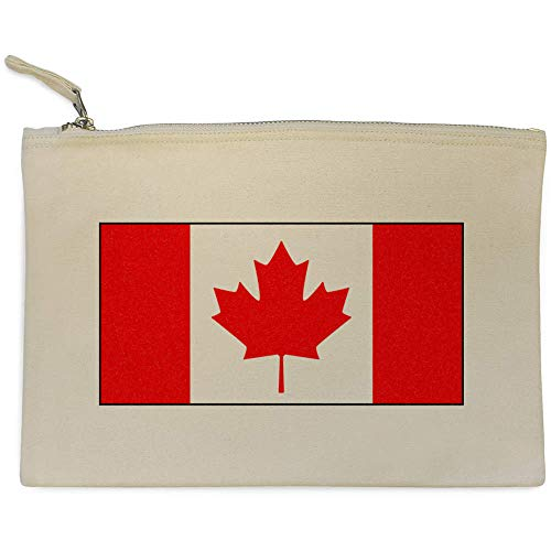cl00015774 E Trucco Custodia Pochette 'bandiera Per Clutch Azeeda Canadese' HfnC8x