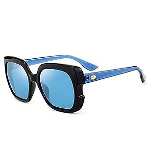 Polarized Sunglasses Square Sunglasses Classic Driving Glasses,C6 Barbie Powder