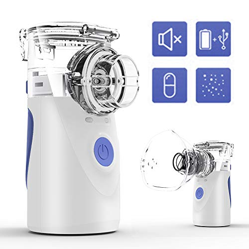 enjoylife Portable Nebulizers for Kids&Adults, Portable Vaporizer, Cool Mist Machine for Travel, One-Button Operation
