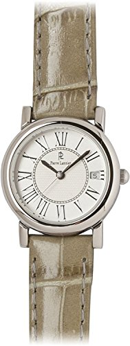 PIERRE LANNIER watch Soleil Watch Silver / Croc gray P871601 C30 Ladies