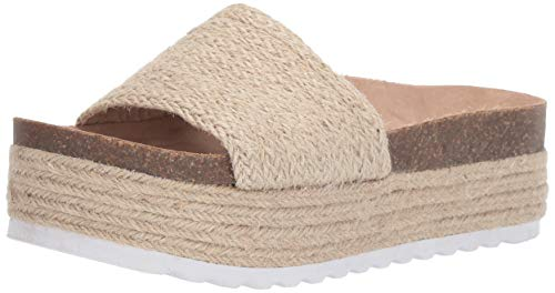 Dirty Laundry by Chinese Laundry Women's Palm Espadrille Wedge Sandal, Natural Jute, 7 M US