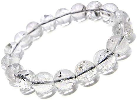 ブラックエレスチャル ヒマラヤ産 10mm パワーストーン ブレスレット 天然石 数珠