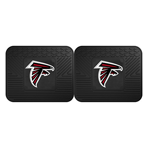 FANMATS 12350 NFL - Atlanta Falcons Utility Mat - 2 Piece (Mats Floor Falcons)