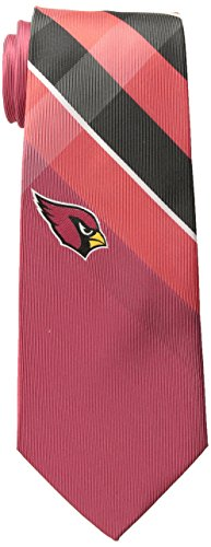 - Eagles Wings NFL Arizona Cardinals Men's Woven Polyester Grid Necktie, One Size, Multicolor