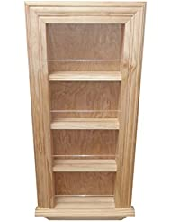 Wood Cabinets Direct 28 Inch Kane Traditional Frame In The Wall Spice Rack 18 X 3 5