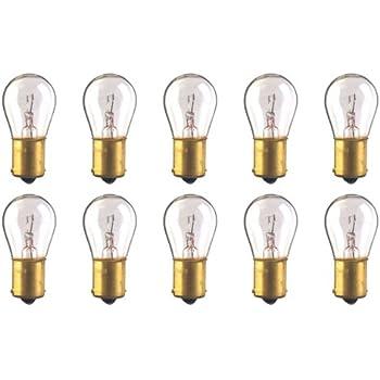 CEC Industries #1156 Bulbs, 12.8 V, 26.88 W, BA15s Base, S-8 Shape (Box of 10)