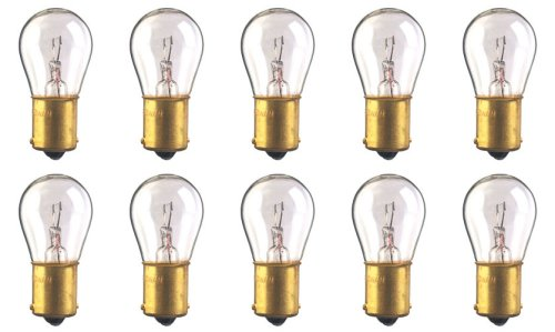 - CEC Industries #93 Bulbs, 12.8 V, 13.312 W, BA15s Base, S-8 Shape (Box of 10)