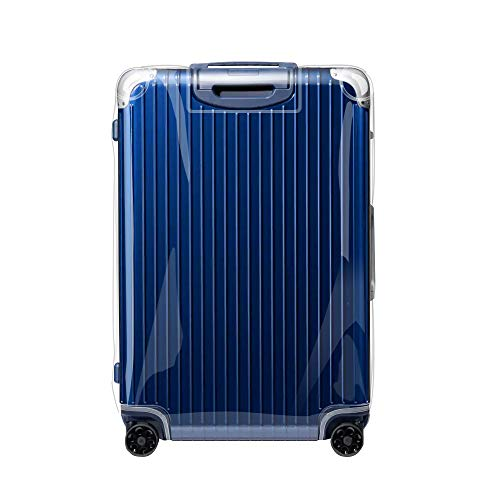 Sunikoo Luggage Cover for Rimowa HYBRID Suitcase Clear PVC Protector Transparent Protective Case with Black Zipper 883.73 Check-In L ()