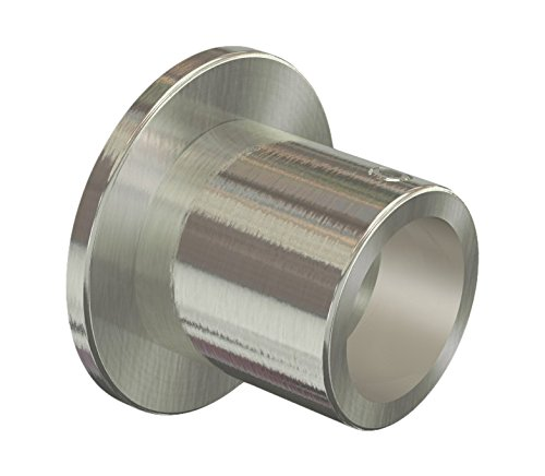 Flairdeco Nischentr/äger Wandlager f/ür 16 mm /Ø Gardinenstange Metall Edelstahl-Optik