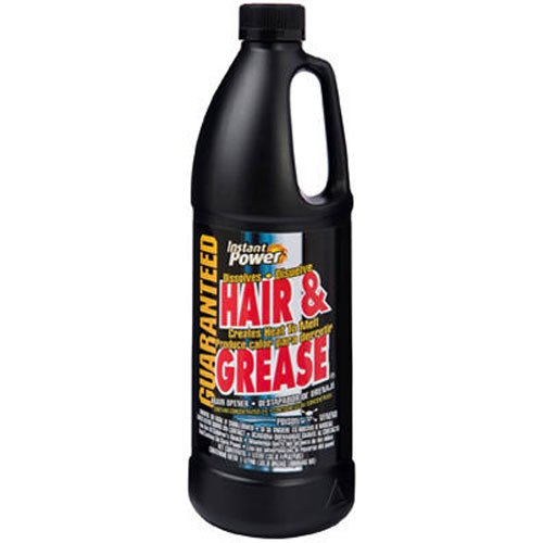 Instant Power 1969 Hair and Grease Drain Opener, 1 l, -