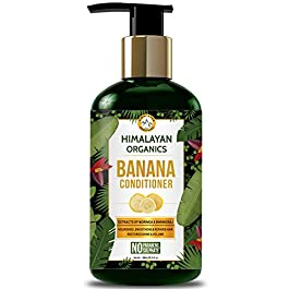 Himalayan Organics Banana Conditioner for Dry and Frizzy Hair | Hydrating & Nourishing Damaged Hair | NO Sulphate…