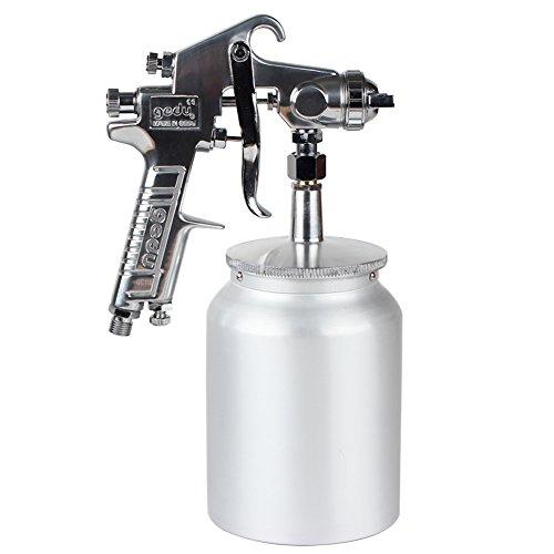 High Pressure Spray Gun with 1000cc Cup, 3.0mm Nozzle, sl...