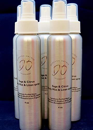 Sage l Citrus l Body Mist l Linen Spray l Air Freshener l Office l Home l ()