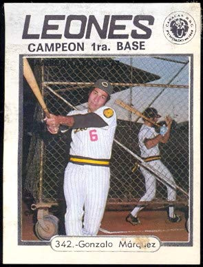 Amazon.com: 1977 Topps Venezuelan (Baseball) card#342 ...