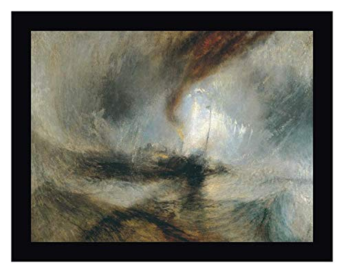 Snow Storm - Steam Boat Off a Harbours Mouth by William Turner - 15