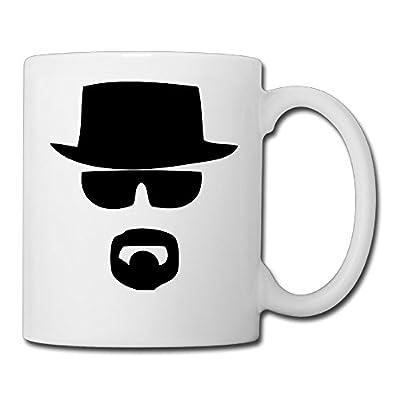 A Black Top Hat Men Logo Design Printing 11oz Coffee Mug Gift Tea Mugs