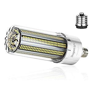 100W Super Bright LED Corn Light Bulb(700 Watt Equivalent) – E27/E40 Large Base LED Lamp – 5000K Daylight 12,000 Lumens…