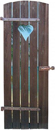 1art1 Doors Poster-Sticker Wall-Tattoo - The Doorway to My Dream Beach (75 x 32 inches)