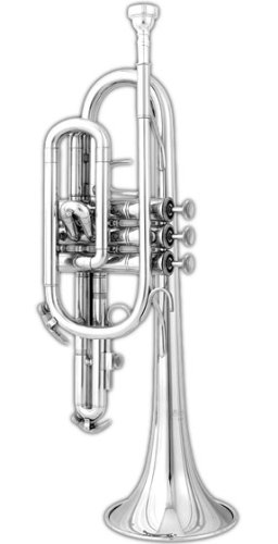 Blessing BCR1230S Silver-Plated Student Cornet by Blessing