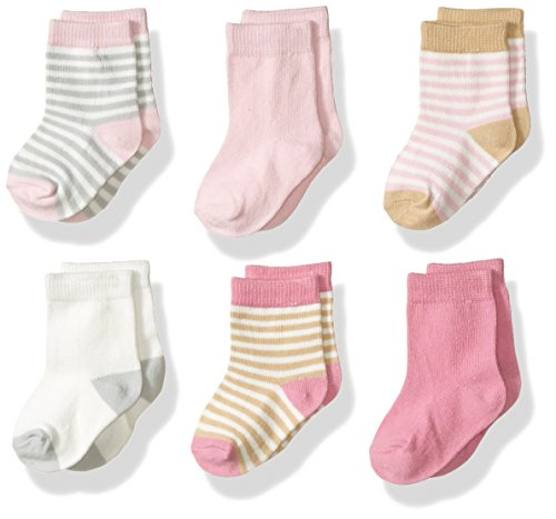 touched-by-nature-baby-organic-6-pack-cotton-socks-girl-stripes-0-6-months