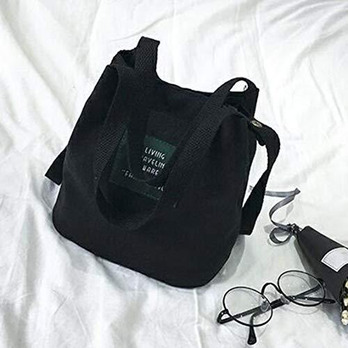 bolso capacidad del al de del grande la la las lona mujer la de de manera coreano bolso del mensajero estilo de Bolso de de aire la Crossbody de Bolso de hombro Bolso viaje libre mujeres UwIxqRp