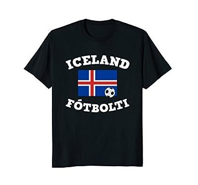 Iceland Fotbolti Soccer Jersy Shirt