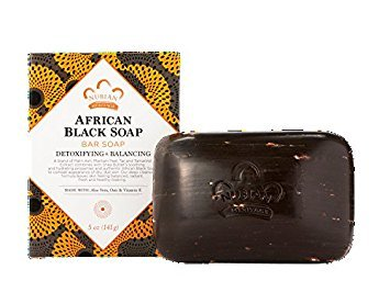Nubian Heritage/Sundial Creations African Black Bar Soap with Oats and Aloe Vera, 2 Count
