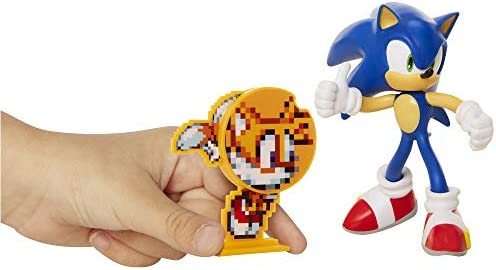 Sonic The Hedgehog Collectible Sonic 4 Bendable Flexible Action Figure With Bendable Limbs Spinable Friend Disk Accessory Perfect For Kids Collectors Alike For Ages 3 Buy Online At Best Price
