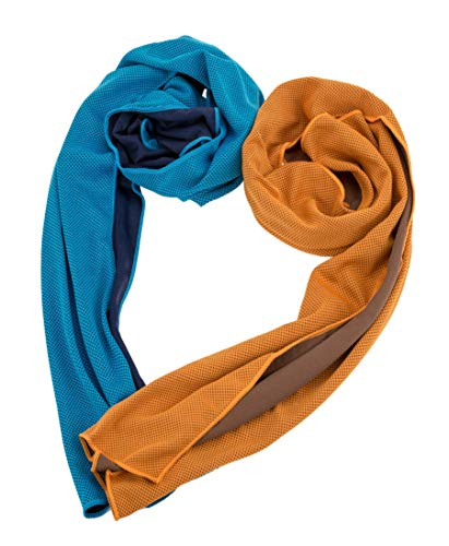 Cooling Towel, Cool Towel for Instant Cooling Relief, Chilling Neck Wrap, Ice Cold Scarf For Men & Women, 40x12
