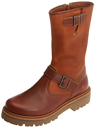 Marina Art Cuero Women's Brown Heritage wax Boots 6qpwx6HgT